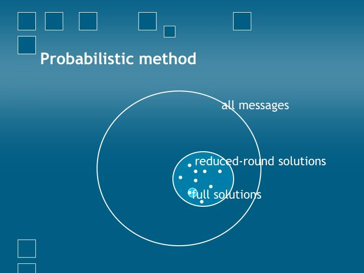 Probabilistic method
