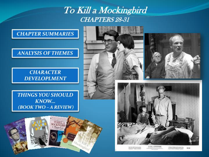 Ppt to kill a mockingbird chapters 28 31 powerpoint presentation
