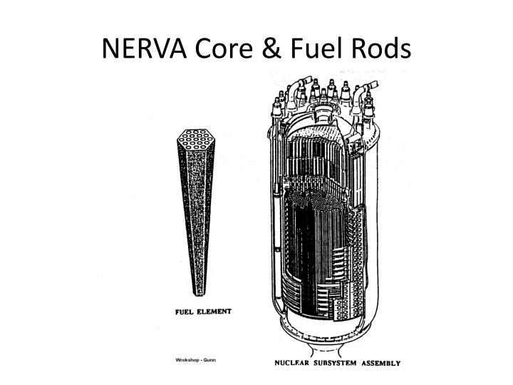 NERVA Core & Fuel Rods