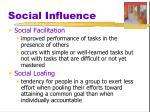 social influence7