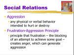 social relations6