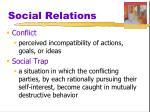 social relations9