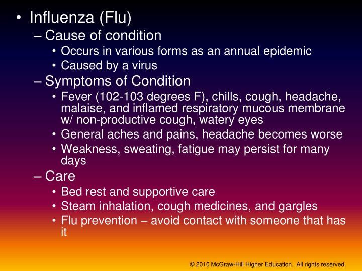 Influenza (Flu)