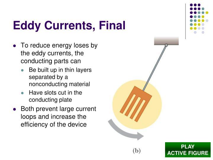 Eddy Currents, Final