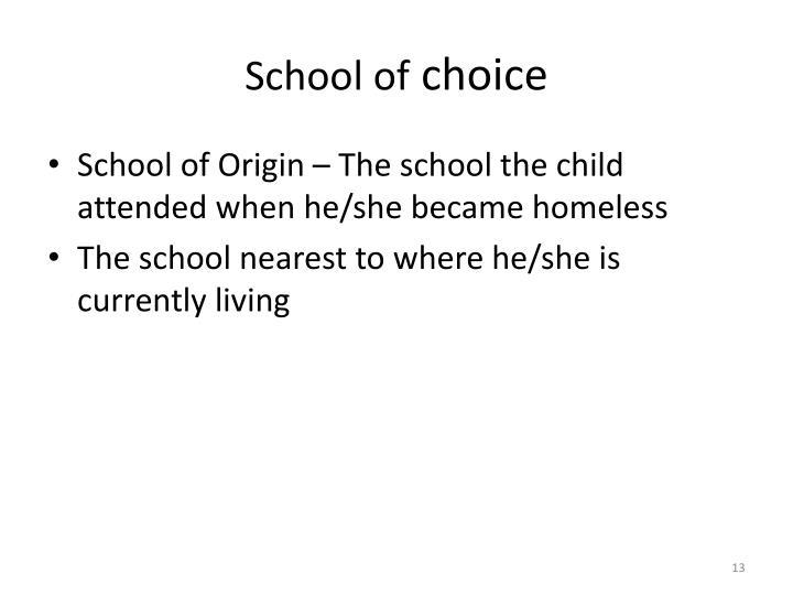 School of