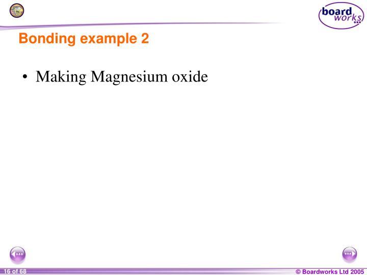 Bonding example 2