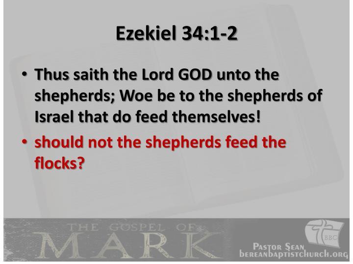 Ezekiel 34:1-2
