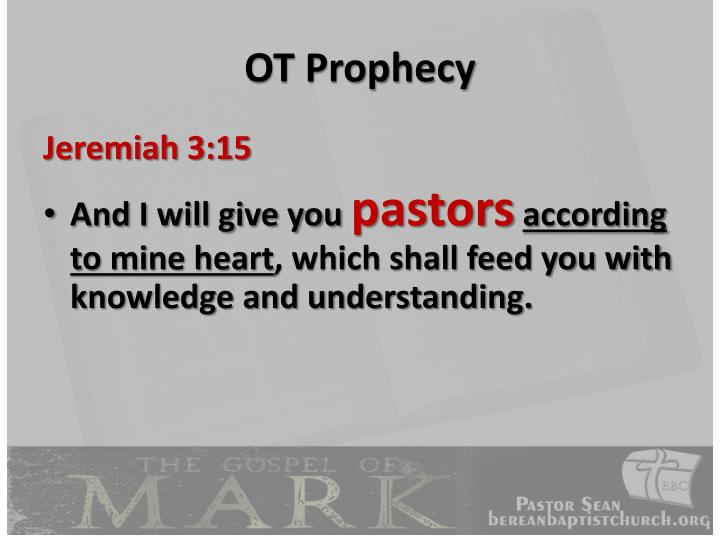 OT Prophecy