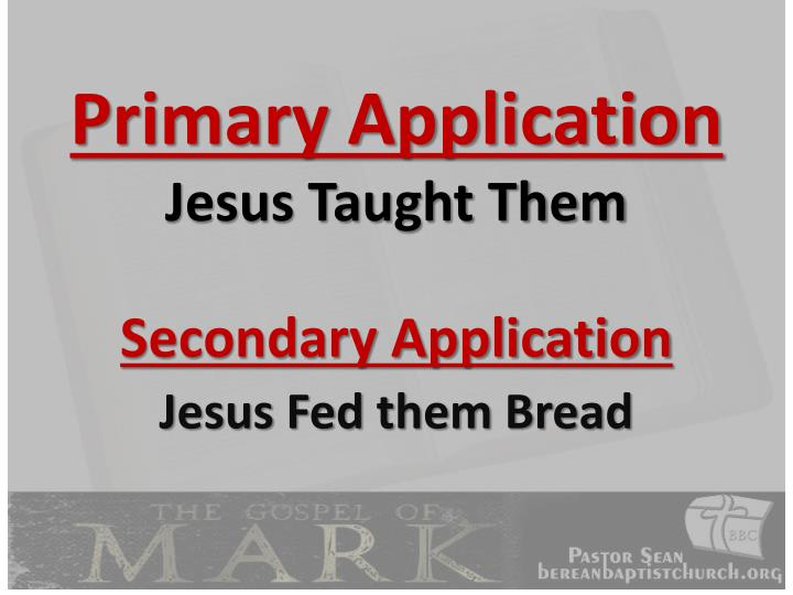 Primary Application