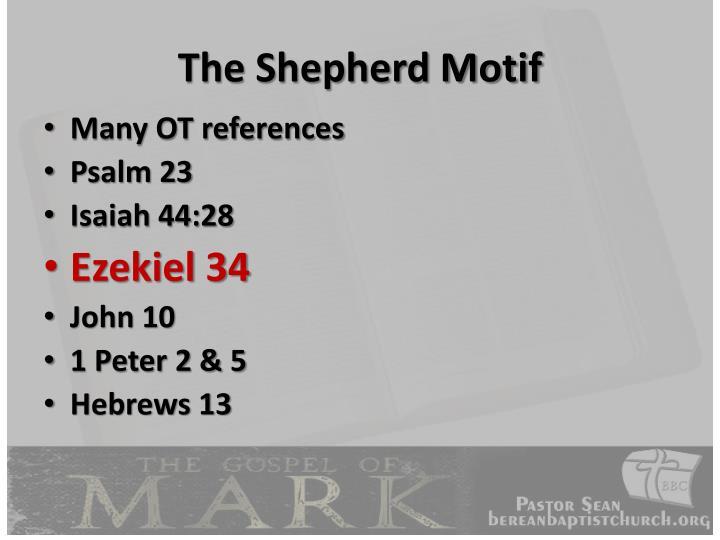 The Shepherd Motif