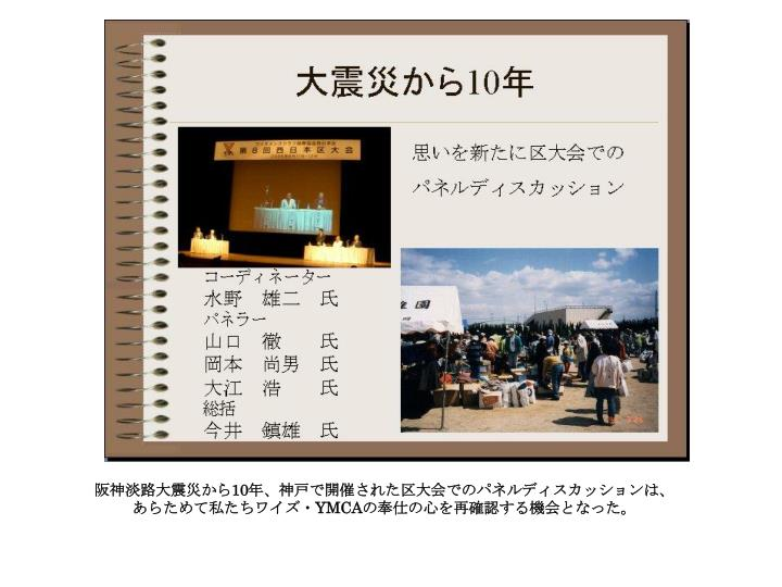 阪神淡路大震災から