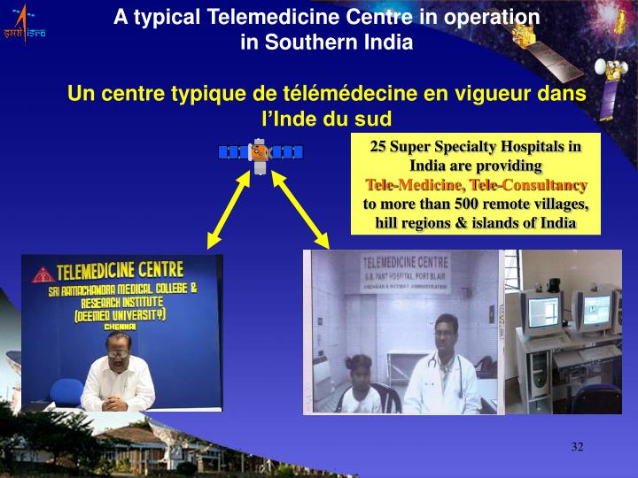 A typical Telemedicine Centre in operation