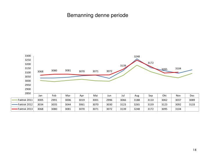 4. Bemanning