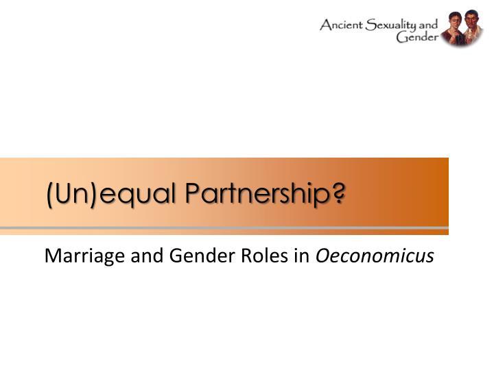 (Un)equal Partnership?