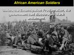 african american soldiers