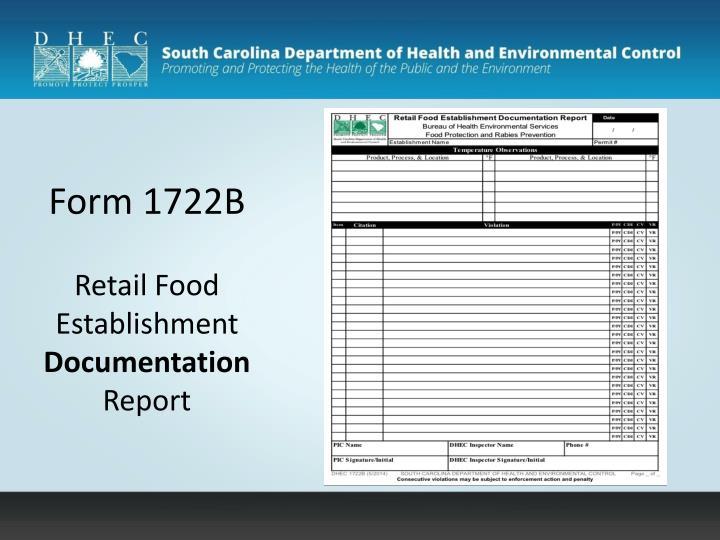 Form 1722B