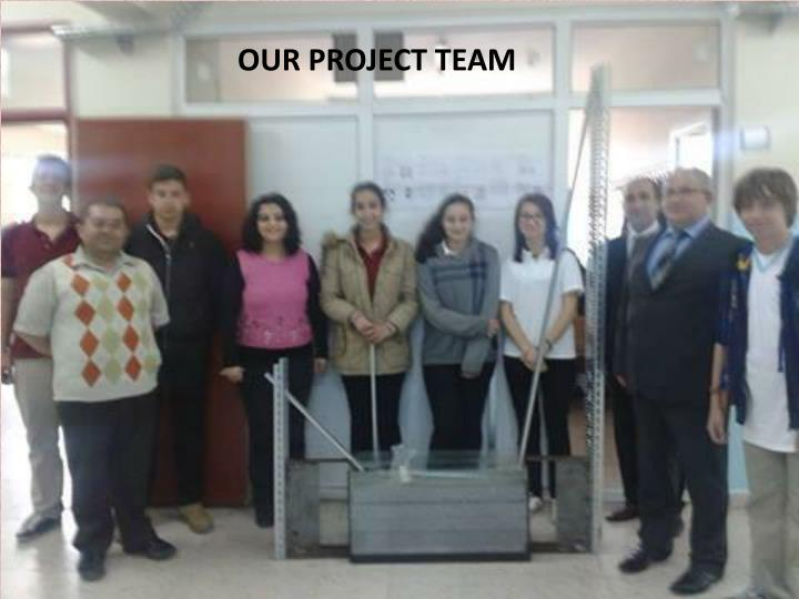 OUR PROJECT TEAM