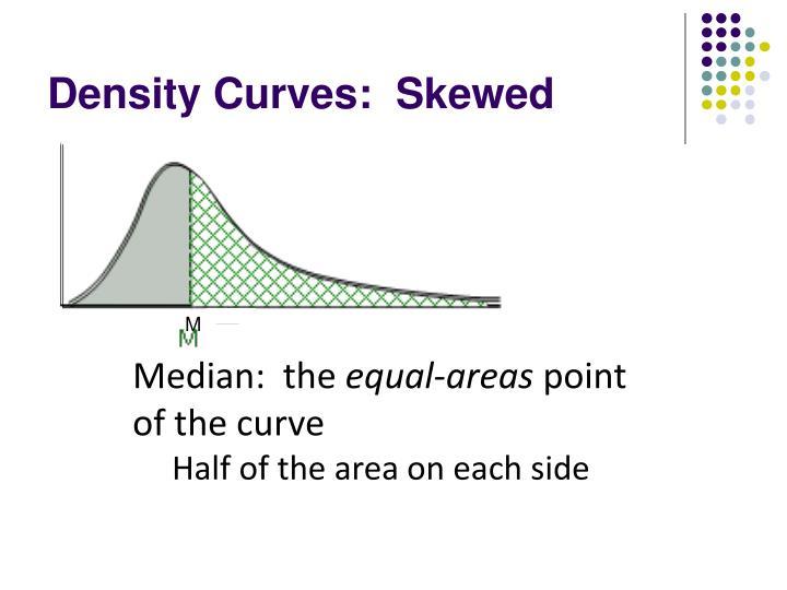 Density Curves:  Skewed