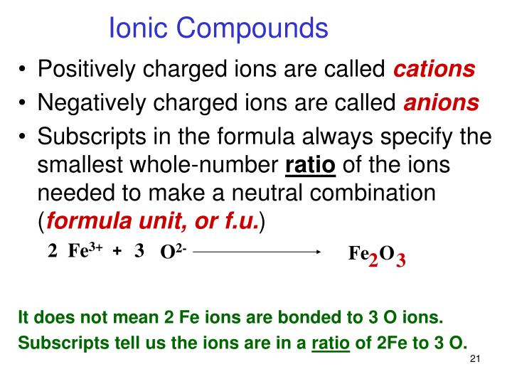 Positively charged ions are called