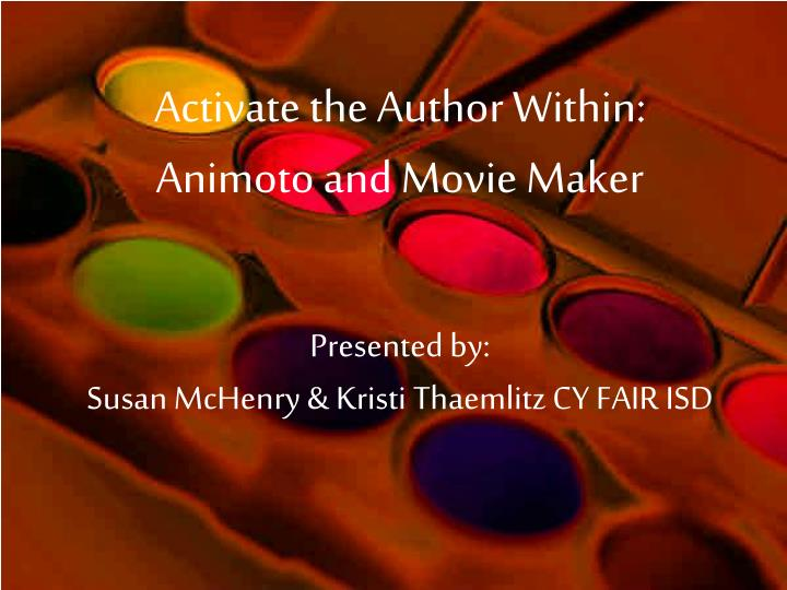 Activate the Author Within:
