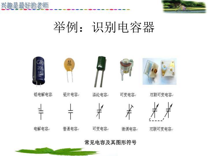 举例:识别电容器