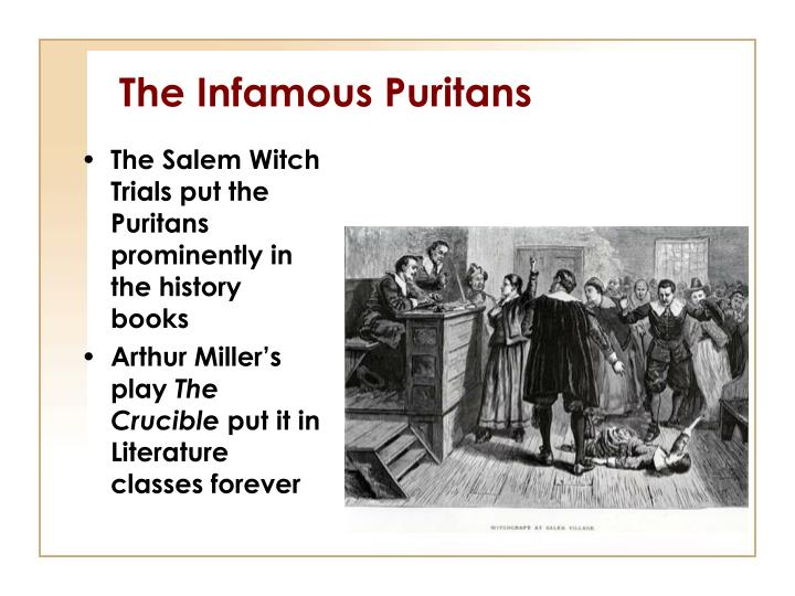 the crucible by arthur miller religion and puritan belief essay Examples of religion essay topics, questions and thesis satatements me when i  am home alone: in the puritan new england town of salem, massachusetts, a  group of girls goes  faith, '' the crucible - the salem witch trials  symbolism  in the crucible by arthur miller the symbol of the witch trials is a symbol of an.