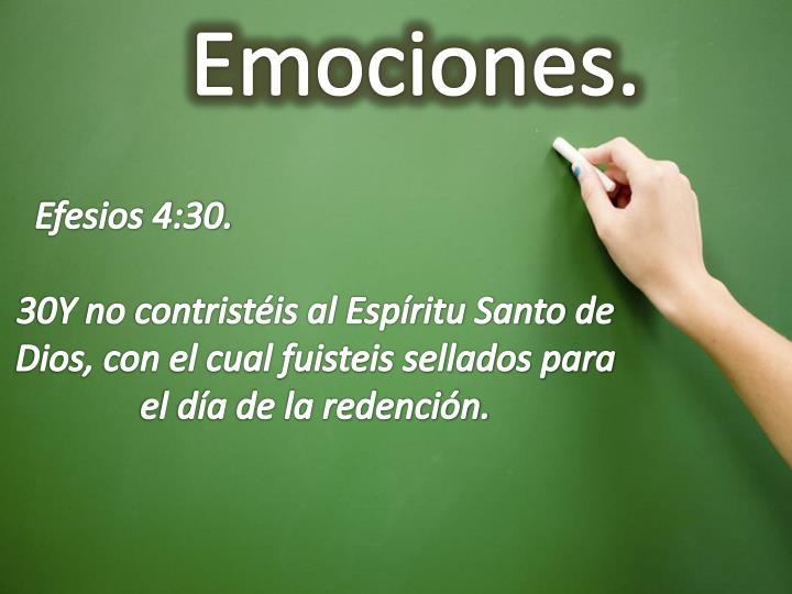 Emociones.
