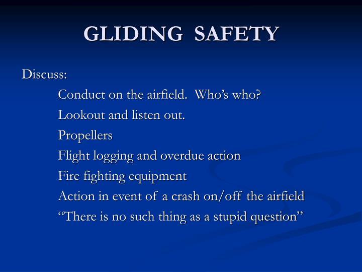 GLIDING  SAFETY