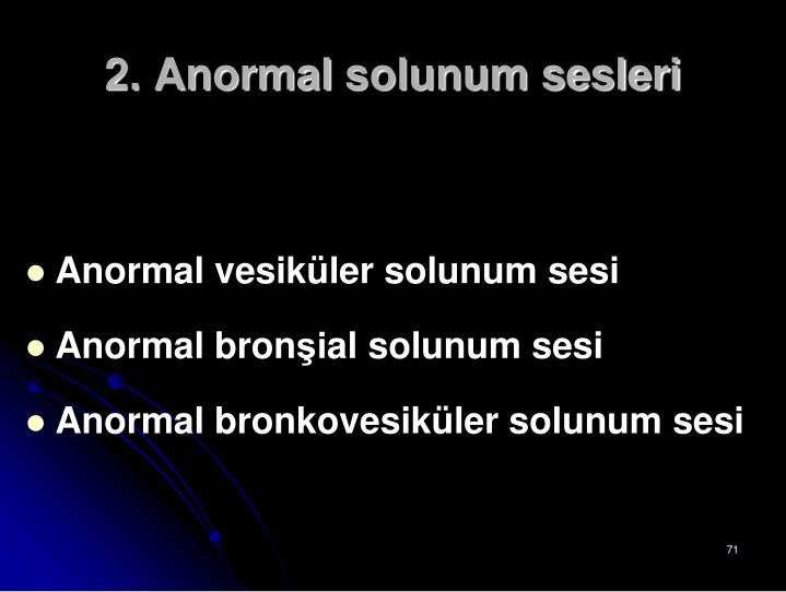 2. Anormal