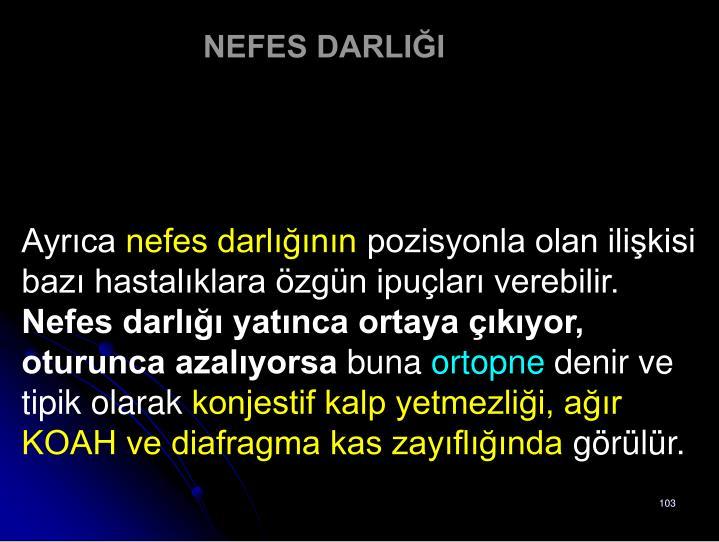 NEFES DARLIĞI