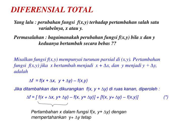 DIFERENSIAL TOTAL