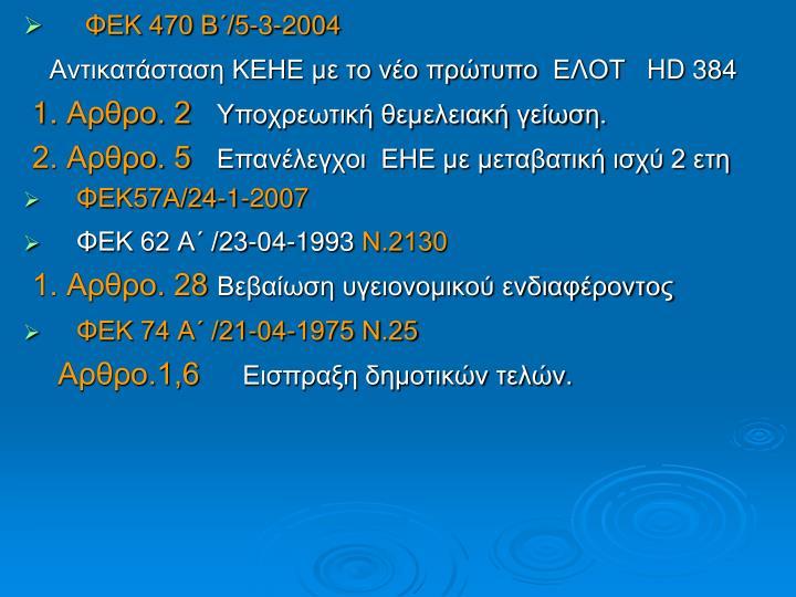 ΦΕΚ 470 Β΄/