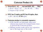 cartesian product 4
