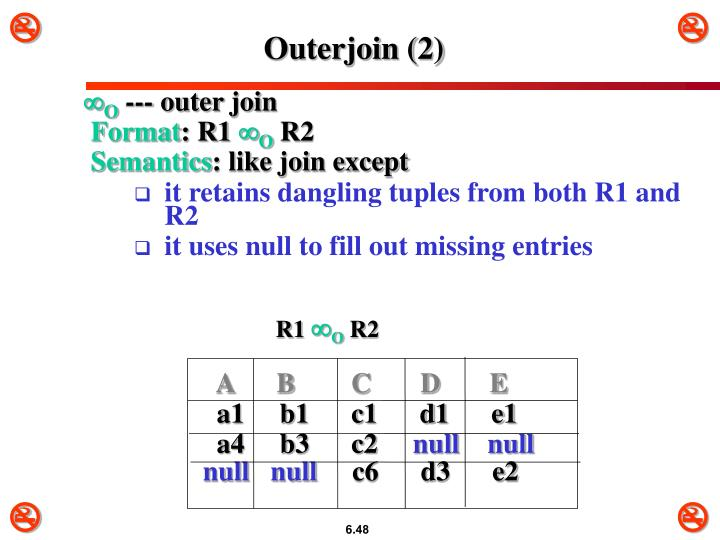 Outerjoin (2)