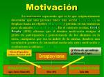 motivaci n