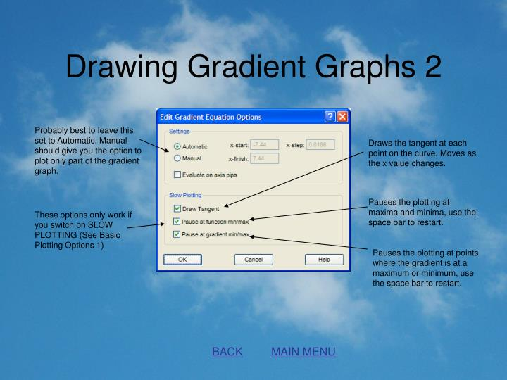 Drawing Gradient Graphs 2