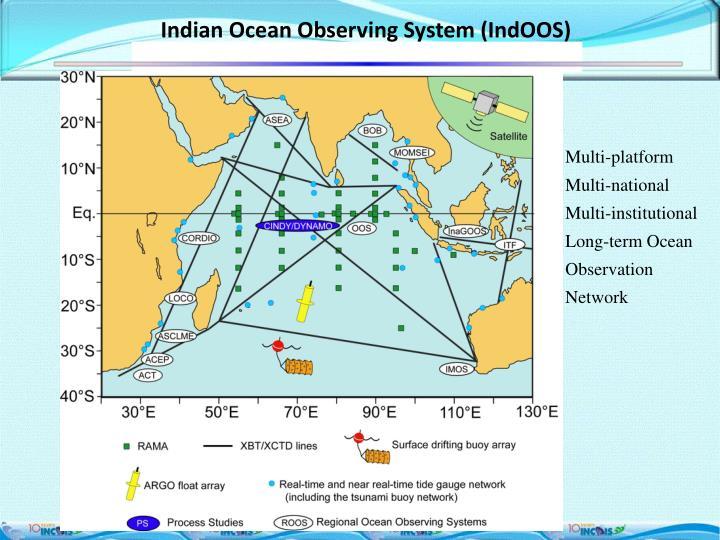 Indian Ocean Observing System (IndOOS)
