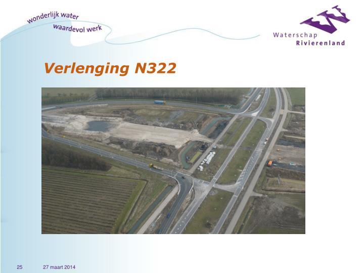 Verlenging N322