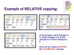 example of relative copying1