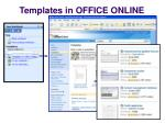 templates in office online