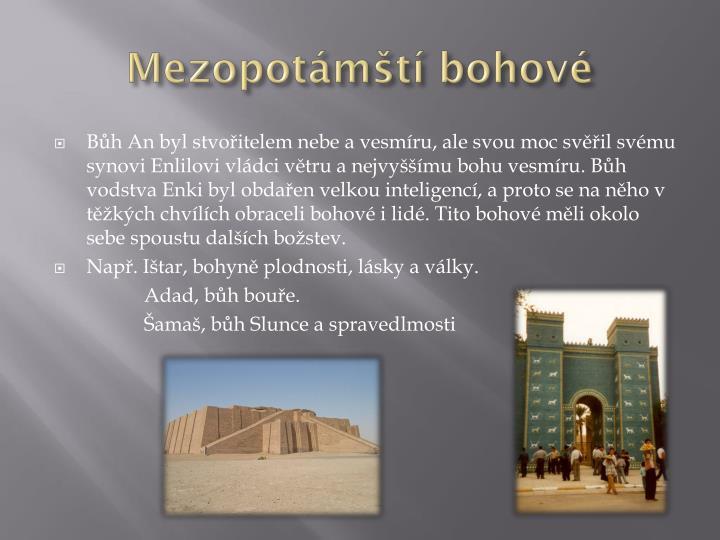 Mezopotámští