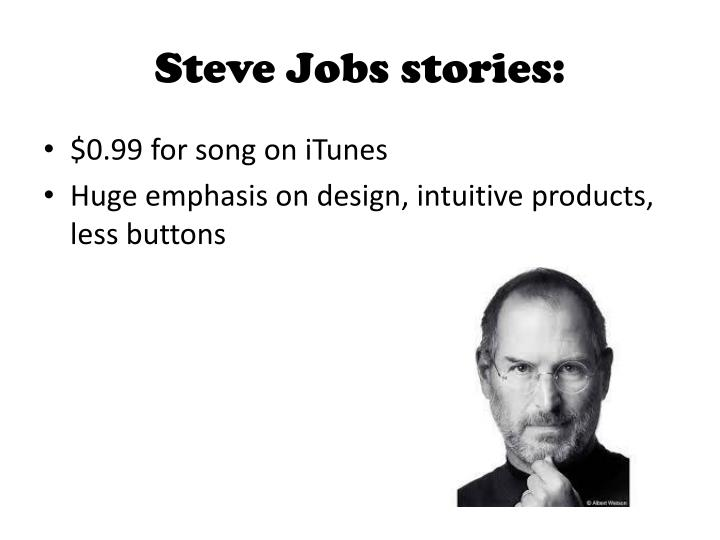 Steve Jobs stories: