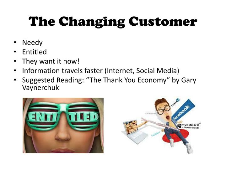The Changing Customer