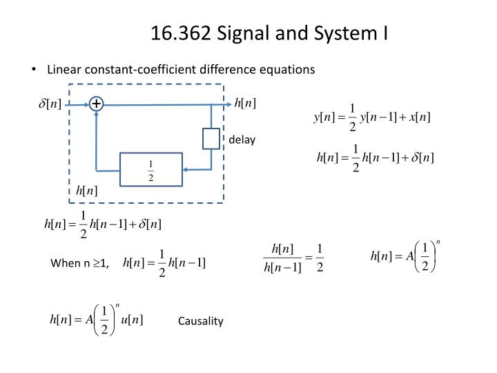 Linear constant-coefficient difference equations