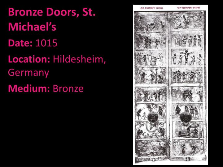 Bronze Doors, St. Michael's