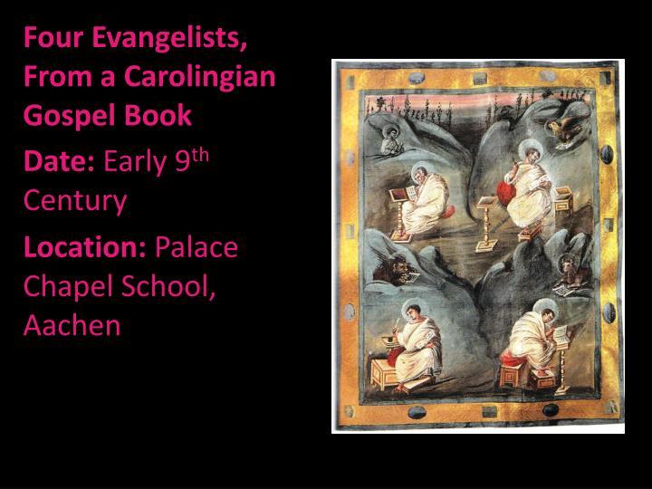 Four Evangelists, From a Carolingian Gospel Book