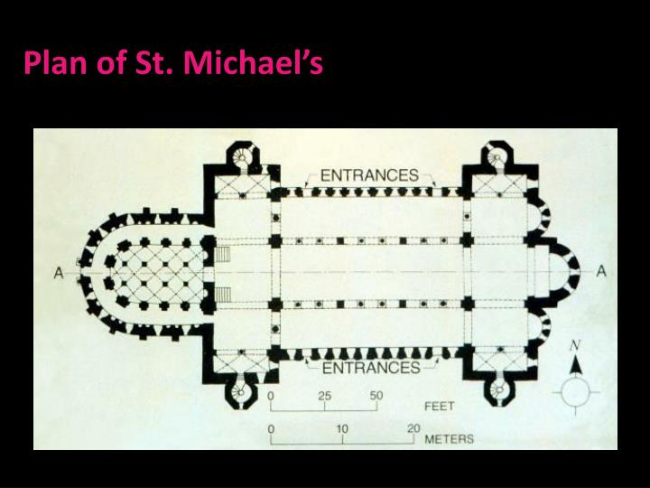 Plan of St. Michael's