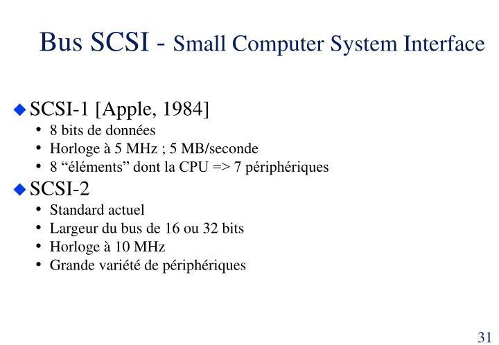 Bus SCSI -