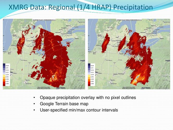XMRG Data: Regional