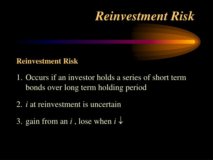 Reinvestment Risk